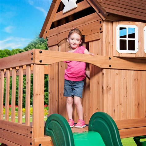 Backyard Discovery Montpelier Swing Set Montpelier Wooden Swing Set Playsets Backyard Discovery