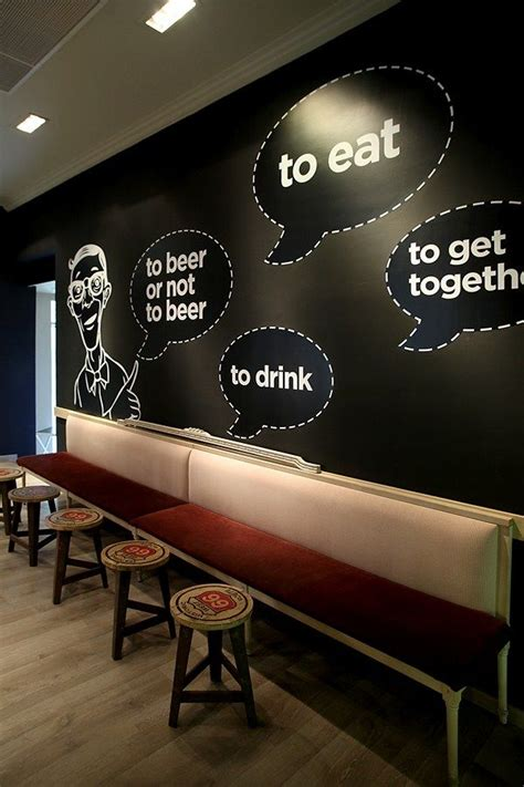 Cool Designer Made Think by Best 25 Cafe Wall Ideas On Coffee Shop Design