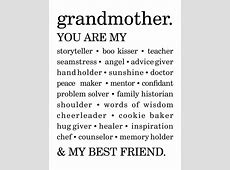 Best 25+ Grandmother quotes ideas only on Pinterest ... I Love You Grandma Quotes