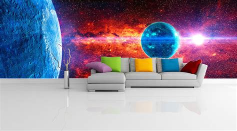 galaxy wallpaper ebay blue planet space galaxy universe 3d full wall mural photo