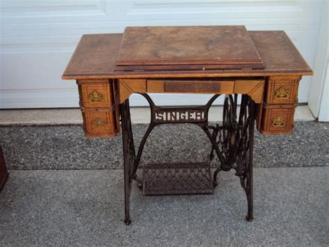 1904 singer treadle sewing machine parksville parksville