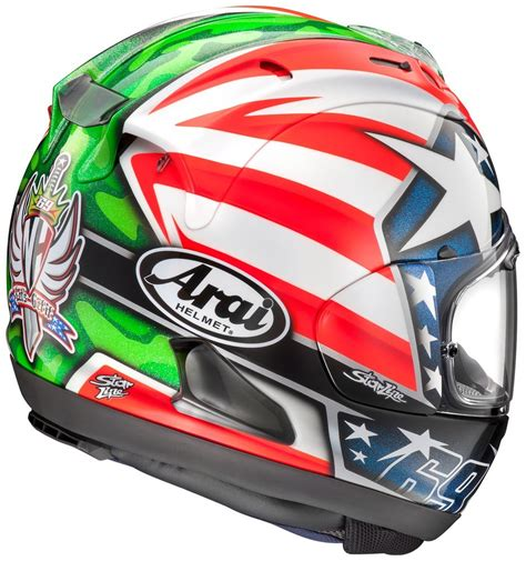 Helm Arai Replika 881 96 arai corsair x nicky 6 hayden replica 225897