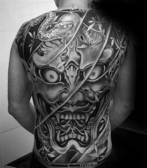 black and grey japanese tattoo designs 50 japanese demon tattoo designs for men oni ink ideas
