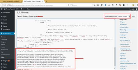 wordpress layout code theme4press how to detect malicious code or malware on