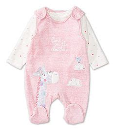 Sleepsuit Mothercare 72 pink velour babygrow