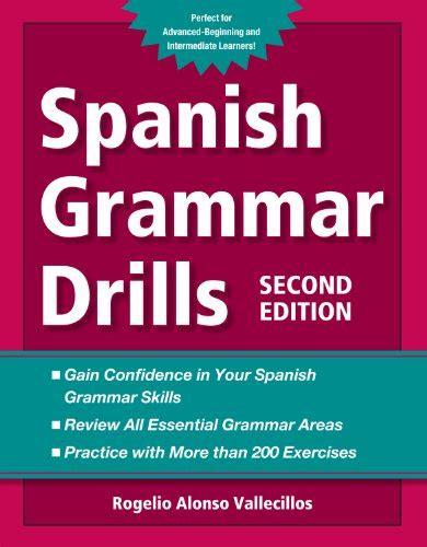 libro perfect exposure 2nd edition spanish grammar drills grammatica panorama auto