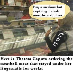 how much does theresa caputo weigh theresa caputo meatballs recipe mystery of cruise ship