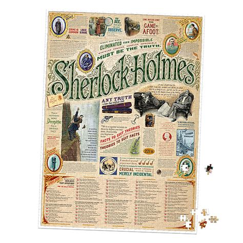 brain ã sherlock puzzles books sherlock 1000pc puzzle exclusive another universe