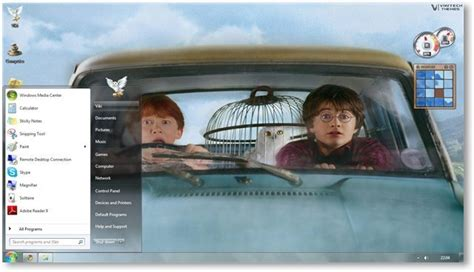 themes for windows 7 harry potter harry potter windows 7 theme