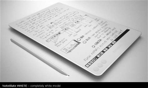 e paper writing tablet 電子メモ帳 noteslate に期待 トドのつまりは 楽天ブログ