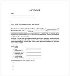 standard shipping note template delivery note template 22 free word pdf format