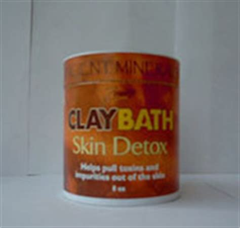 Clay Baths For Mercury Detox by Clay Bath Skin Detox