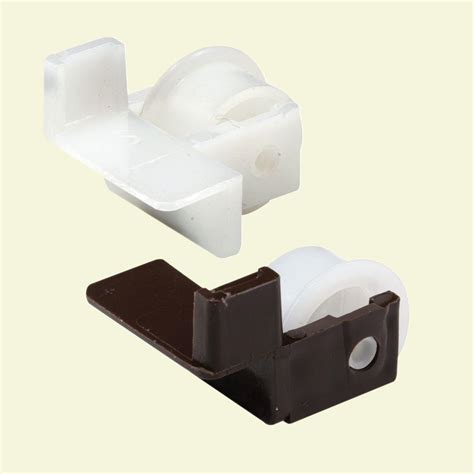 Plastic Drawer Guide by Plastic Drawer Guide Rollers 1 Pair Prime Line 202999844