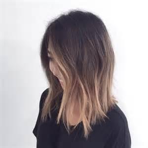 a line haircut ombre color 25 best ideas about long bob ombre on pinterest short