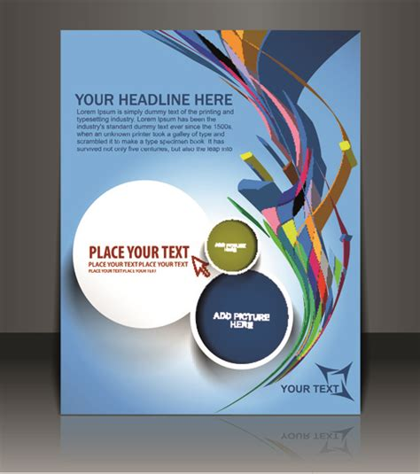 magazine cover layout design vector free elements of poster and magazine cover design vector free
