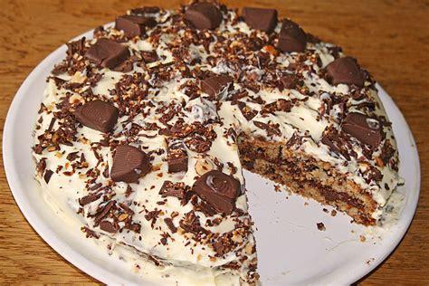 ferrero kuchen ferrero torte rezept mit bild pinktroublebee