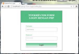 tutorial cara membuat form login di excel tutorial membuat form login dengan php mysql anshori