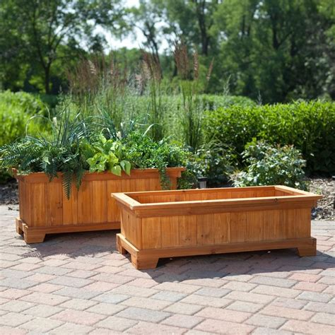 Large Planter Boxes by Best 25 Large Planter Boxes Ideas On Yard