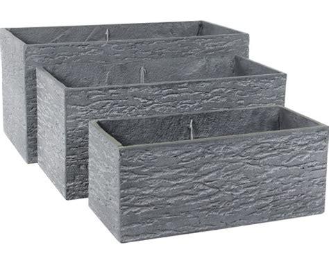 beton blumenkasten blumenkasten leichtbeton 65 x 30 x 30 cm grau jetzt