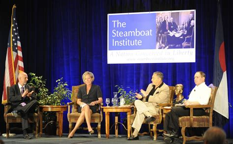 steamboat institute steamboat institute s freedom conference features new