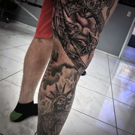badass half sleeve tattoo designs 100 badass tattoos for guys masculine design ideas