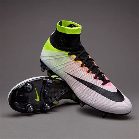 pro direct football shoes sepatu bola nike mercurial superfly sg pro white black