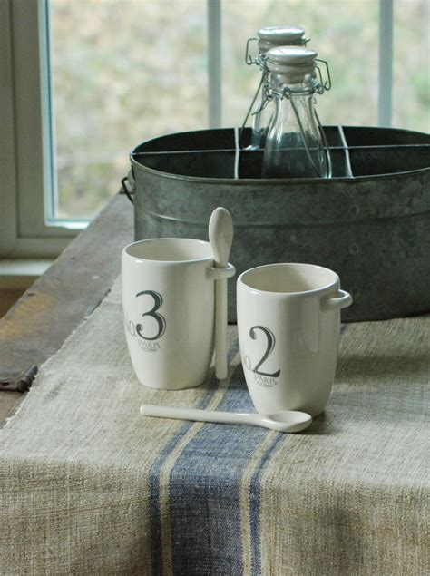 farmhouse musings beyond grain sack striped table runner