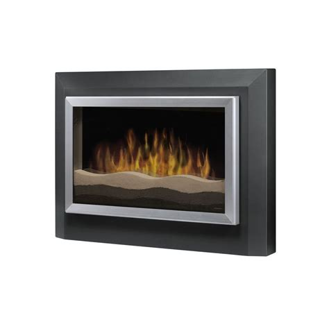 Lowes Dimplex Electric Fireplace by Shop Dimplex 39 5 In W 4 780 Btu Grey Metal Wall