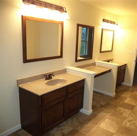 unique master bathrooms master bath a unique way to utilize space with two