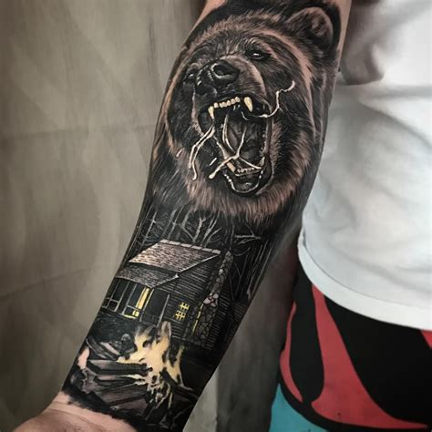bear tattoo meaning meaning and symbolism the