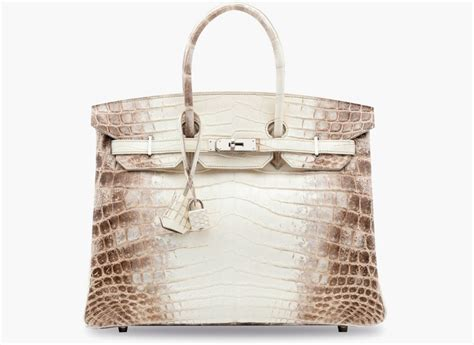 Tas Hermes Birkin Himalaya Fashion luxury goods meet hermes himalaya birkin bag covet edition