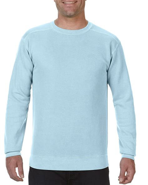 comfort usa 1566 adult crewneck sweatshirt comfort colors 174 usa