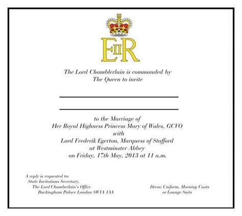 Royal Wedding Invitation List official royal wedding invitation guest list royal