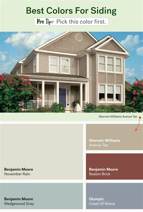 colour shades with names for external home the most popular exterior paint colors huffpost