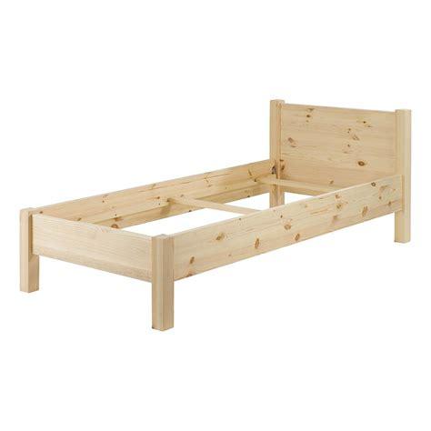 lits une personne lit pin massif brut 1 personne 90 x 190 cm matendance