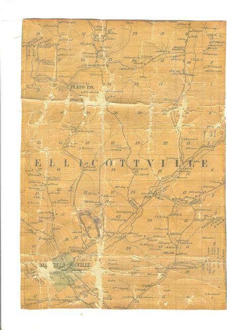 Cattaraugus County Records Cattaraugus County Ny Wall Map 1856