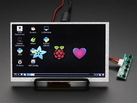 display mini hdmi 4 pi 7 display no touch w mini driver 800x480
