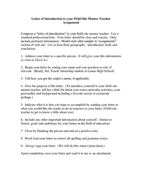 best photos of letter of introduction for education