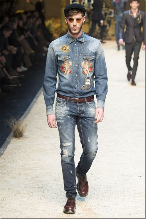The Denim News by Embroidered S Denims From Dolce Gabbana For Fall