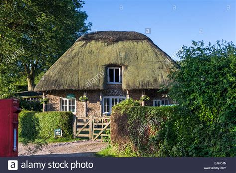 Sussex Cottage by Thatched Cottage In Sussex Stock Photo Royalty