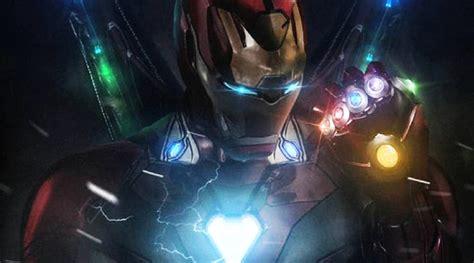fan art reveals iron man wearing infinity stones