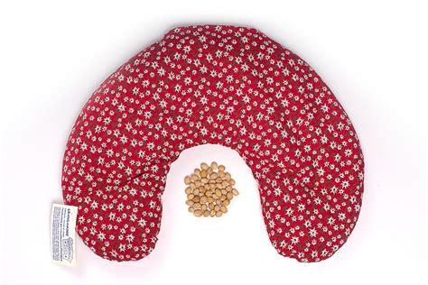 cuscino noccioli di ciliegio ciambella con noccioli di ciliegia cura corpo