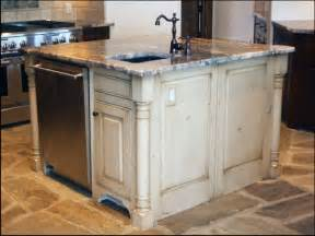 Kitchen Islands With Posts by Kitchen Island 1721