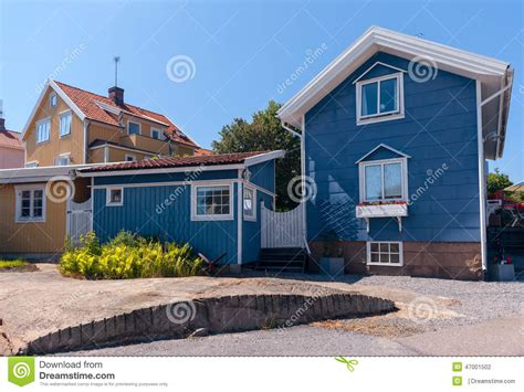Colourful Sheds by Colourful Gables Of The Wooden Sheds Stock Photo Image