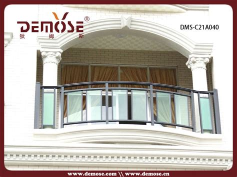 veranda railing designs exterior veranda balcony aluminum and glass railings