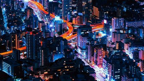 Beautiful Tokyo City Lights Wallpaper   Wallpaper Studio