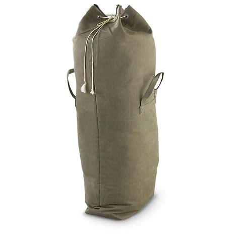 army duffle bag canada new surplus duffel olive drab 205933
