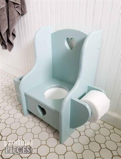 Talking Toilet Paper Holder Reminds You To Wash Your by Potty Chair Makeover Talking Toddler Style Prodigal Pieces