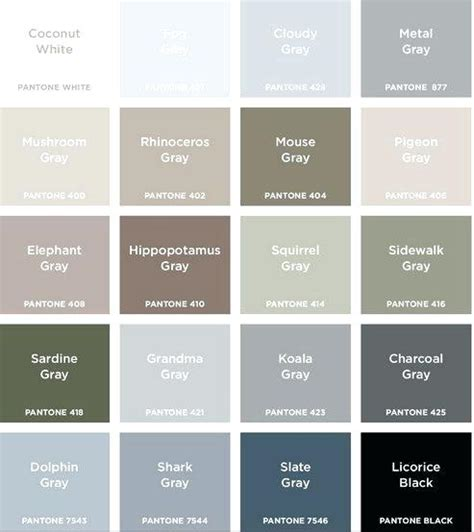 shades of gray color shades of grey color chart legotape co