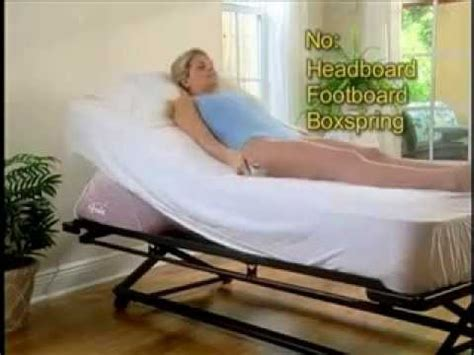 bed adjustable bed wedge youtube